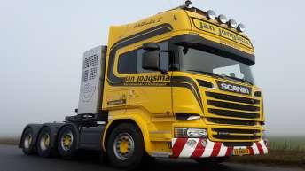 Scania R580 voor Jan Jongsma