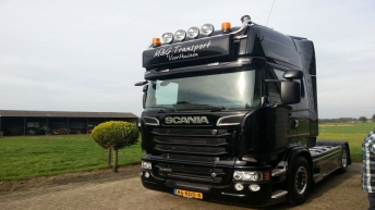 Scania R500 voor M&G Transport