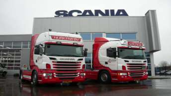 Scania R500 voor Hurkens Transport