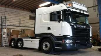 Scania R580 euro 6 in opbouw voor Walinga Transport