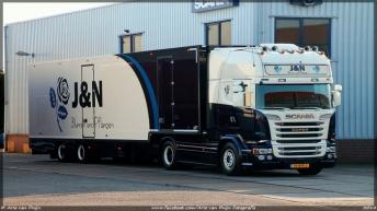Scania R520 voor J&N Blumen und Pflanzen