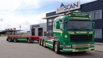 Scania R580 voor Karsten Jensen (DK)