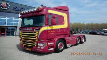 Scania R520 voor Ger Verkerk
