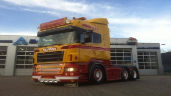 Tweedehands Scania R500 voor M. Vreugdenhil