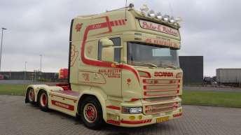 Scania R580 voor Peter E. Nielsen