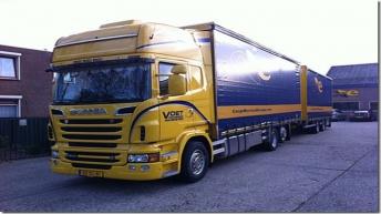 Scania R500 voor Voet Transport