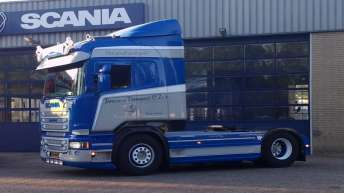 Scania R620 voor Janssens Transport & Zn's