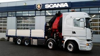 Scania V8 R580 - Wicherson Trading bv.