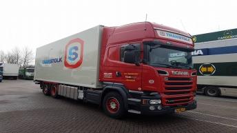 Scania R730 motorwagen voor Transtolk