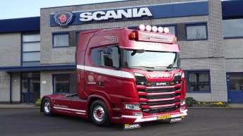 Nieuwe Scania S520 voor M. den Hollander