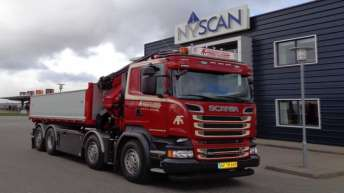 Scania R520 voor Freddy Frederiksen