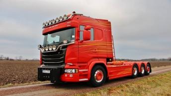 Scania R580 voor Stålcrona (Z)