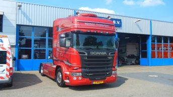 Scania R580 voor Reuser Transport