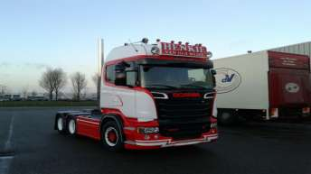 Scania R500 voor Henk van der Weide