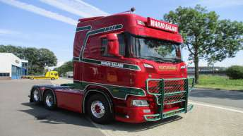 Nieuwe Scania S580 voor Marjo Salari