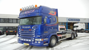 Twee Scania R580'ers voor Multi Continental