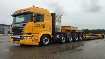Scania R730 voor Gebr. Kok Bakkeveen