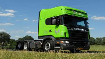 Scania R500 voor Hemink Transport