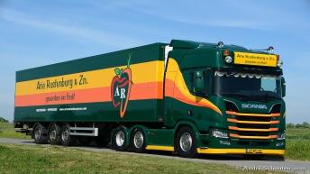Scania R520 voor Arie Rustenburg & Zn.