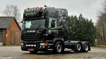 Scania R500 voor Geurtsen Bv.