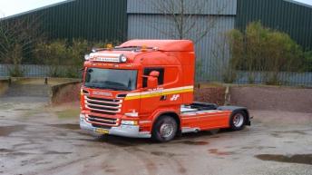 Scania R500 voor Fa.H.D.de Haan