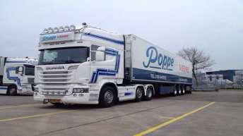 Scania R520 voor Poppe Veere