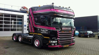 Scania R520 voor Cecille Vlot