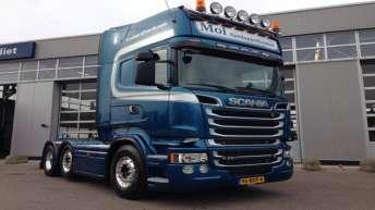 Scania R520 voor Mol uit Puttershoek