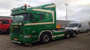 Tweedehands Scania 164 480 voor Morten Skov (DK)