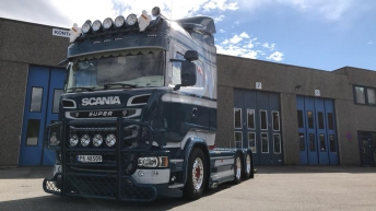 Scania R580 voor Vennesla Transport AS (NO)