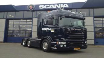 Scania R520 voor Wessels Transport Rijssen