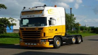 Scania R500 voor A. van Andel