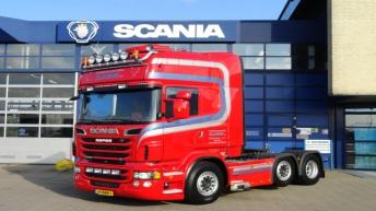 Scania R560 voor Exportslachterij Clazing