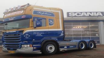 Scania V8 R580 voor KD Transport (DK)