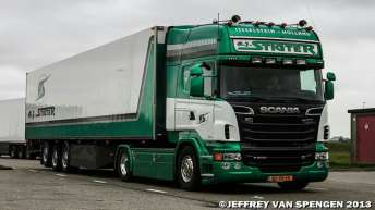 Scania R500 voor A.J. Stigter