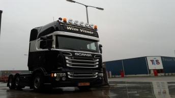 Scania R520 voor Wim Visser