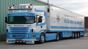 Scania R730 voor Mike Kok