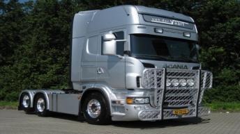Scania R560 voor Van Der Vaart