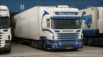 Scania R560 voor Sol-Trans