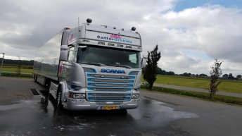 Scania R580 voor Satter Orchids