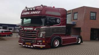 Scania R500 voor Laurens Röling