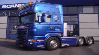 Scania R560 voor Jan Kist Transport