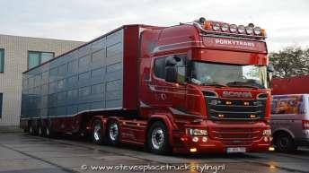 Scania R580 voor Porkytrans (B)