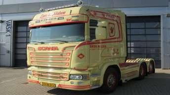 Scania R580 trekker voor Lars E. Nielsen (DK)