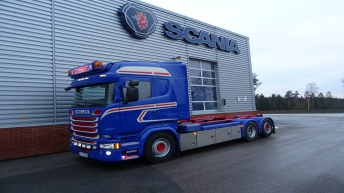 Scania R580 voor Strømnes Transport AS (NO)