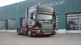 Scania R520 voor Hendrikse Verhuur
