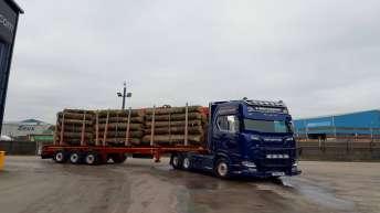 Scania S730 voor S. Shuttlewood Haulage (EN)