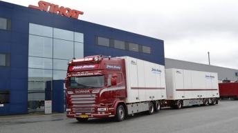 Scania R580 voor Jakob Sinding (DK)
