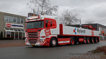 Scania R520 voor Henken Transport