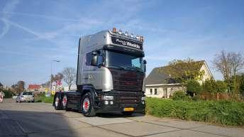 Scania V8 R580 Silver Griffin nr 62/100 - Peter van Weelde